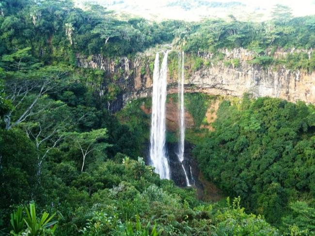 ile maurice cascade de Charamel